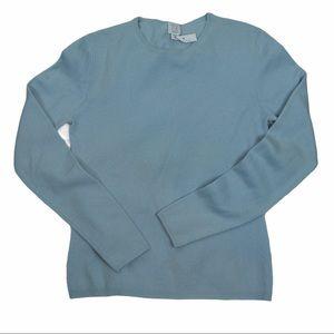 Cashmere TSE Classic Crew Neck Sweater, Baby Blue